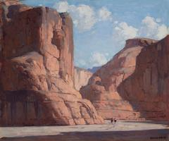 "Edgar Payne ""Canyon De Chelley"""