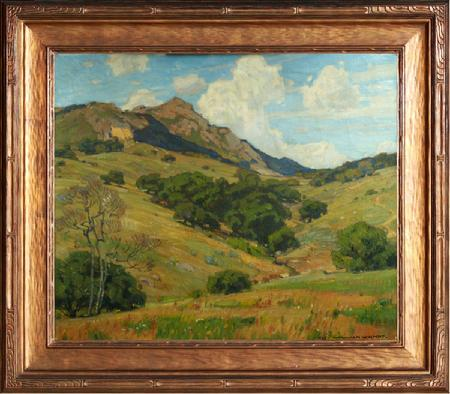 "William Wendt ""To Mountain Heights and Beyond"" 25 x 30 inches!"